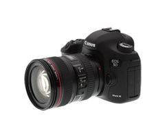 Professional Canon 5D Mark 3 DSLR Camera Rental Chennai