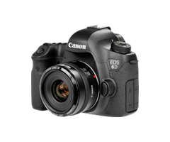 Canon 6D DSLR Camera, Photography Equipment Rental Chennai