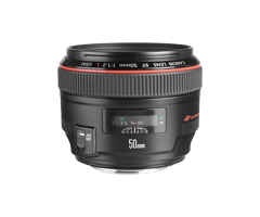 Canon EF 50MM F/1.2L USM Lens Rental, Rent A Camera Chennai