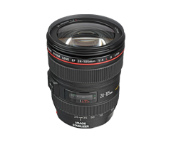 Professional Canon EF 24-105MM IS Camera Lens Rental Chennai